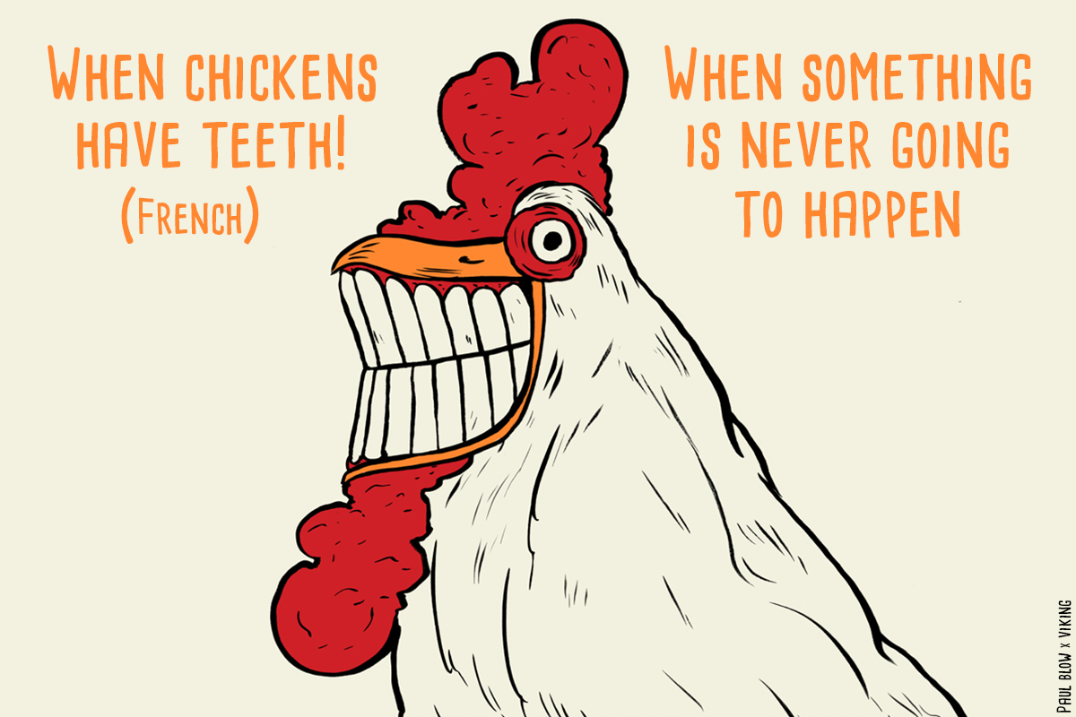 When Chicken Have Teeth image