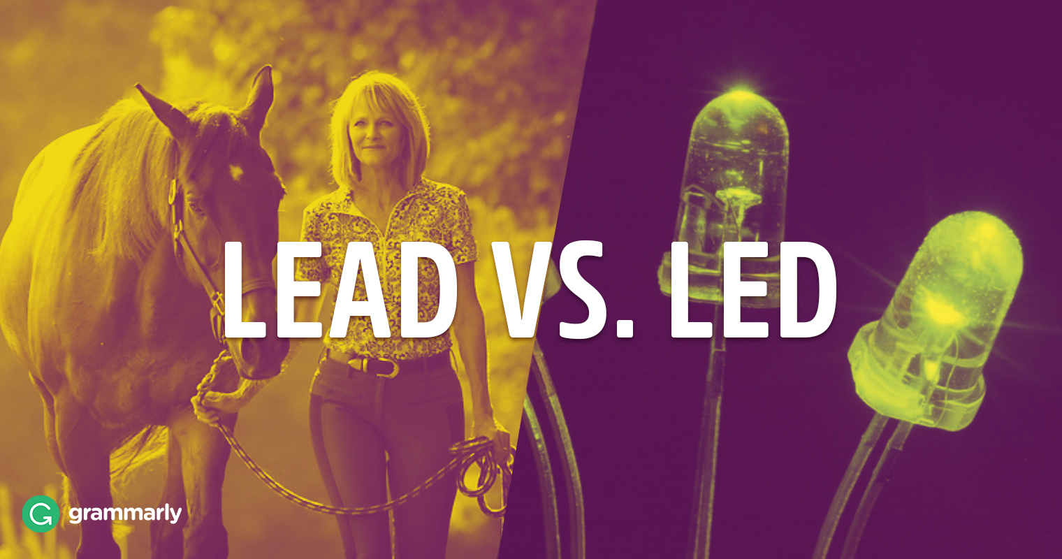 Led or Lead—The Past Tense of Lead? image