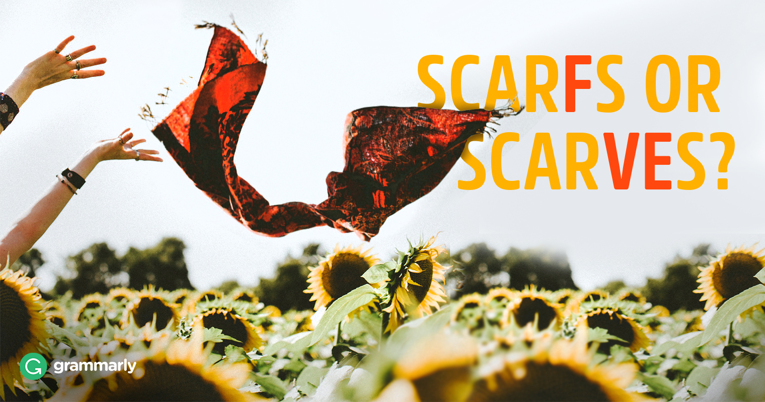 Scarfs or Scarves—What's the Plural of Scarf? image