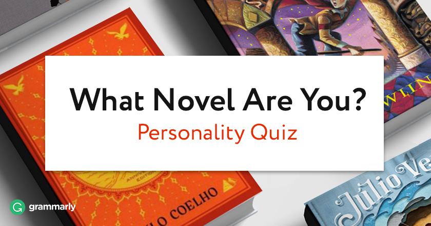 Novel Personality Quiz