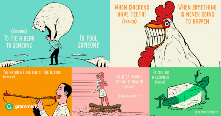 Lost in Translation: Five Foreign Idioms in English
