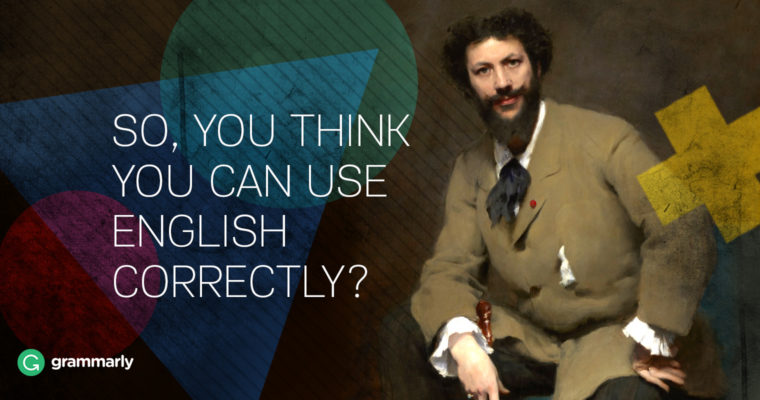 "Oxford Quiz Tells You Whether You Use English ""Correctly"""