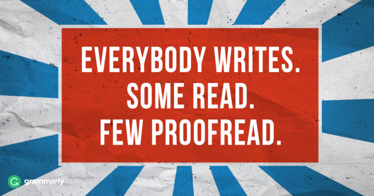 5 Basic Proofreading Habits for a More Productive 2018