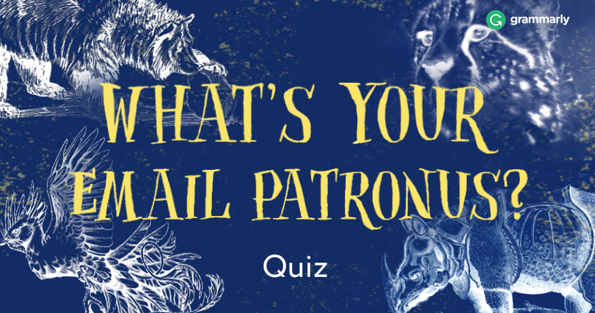 What Is Your Email Patronus Quiz