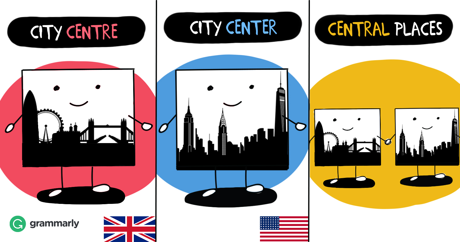 center or centre which is right grammarly