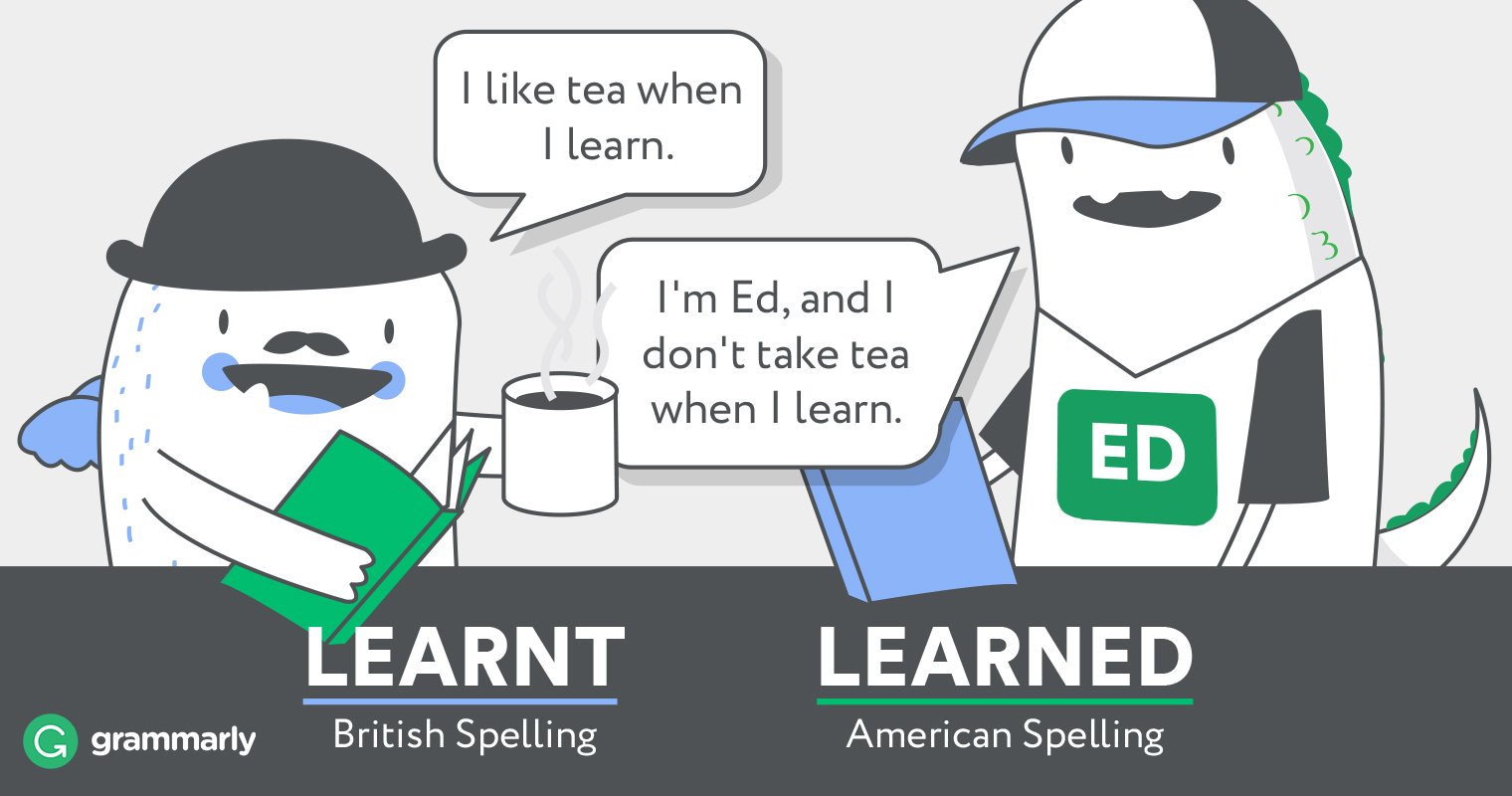 learned or learnt grammarly