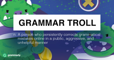It's Time to End Grammar Trolling
