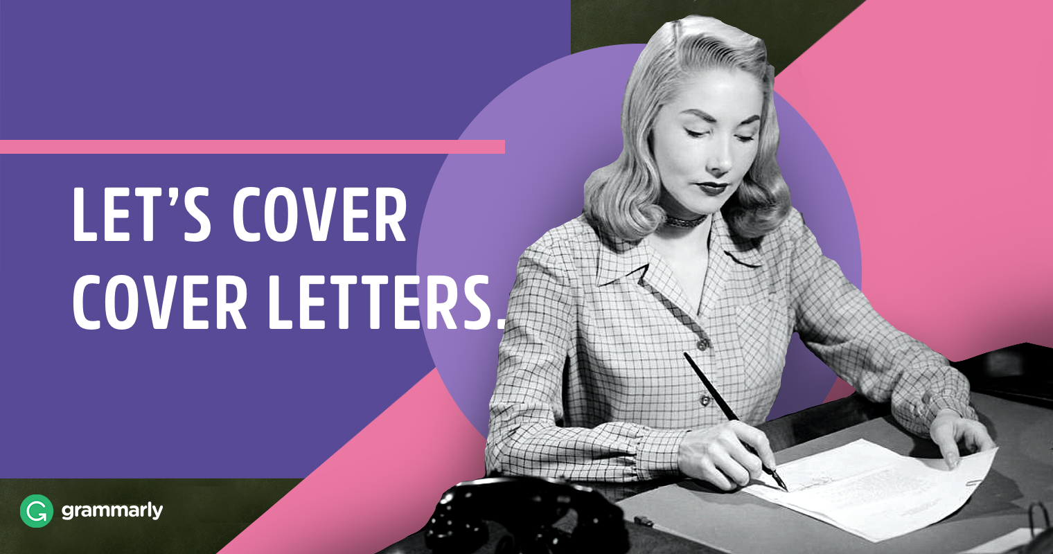 How to Write a Cover Letter | Grammarly