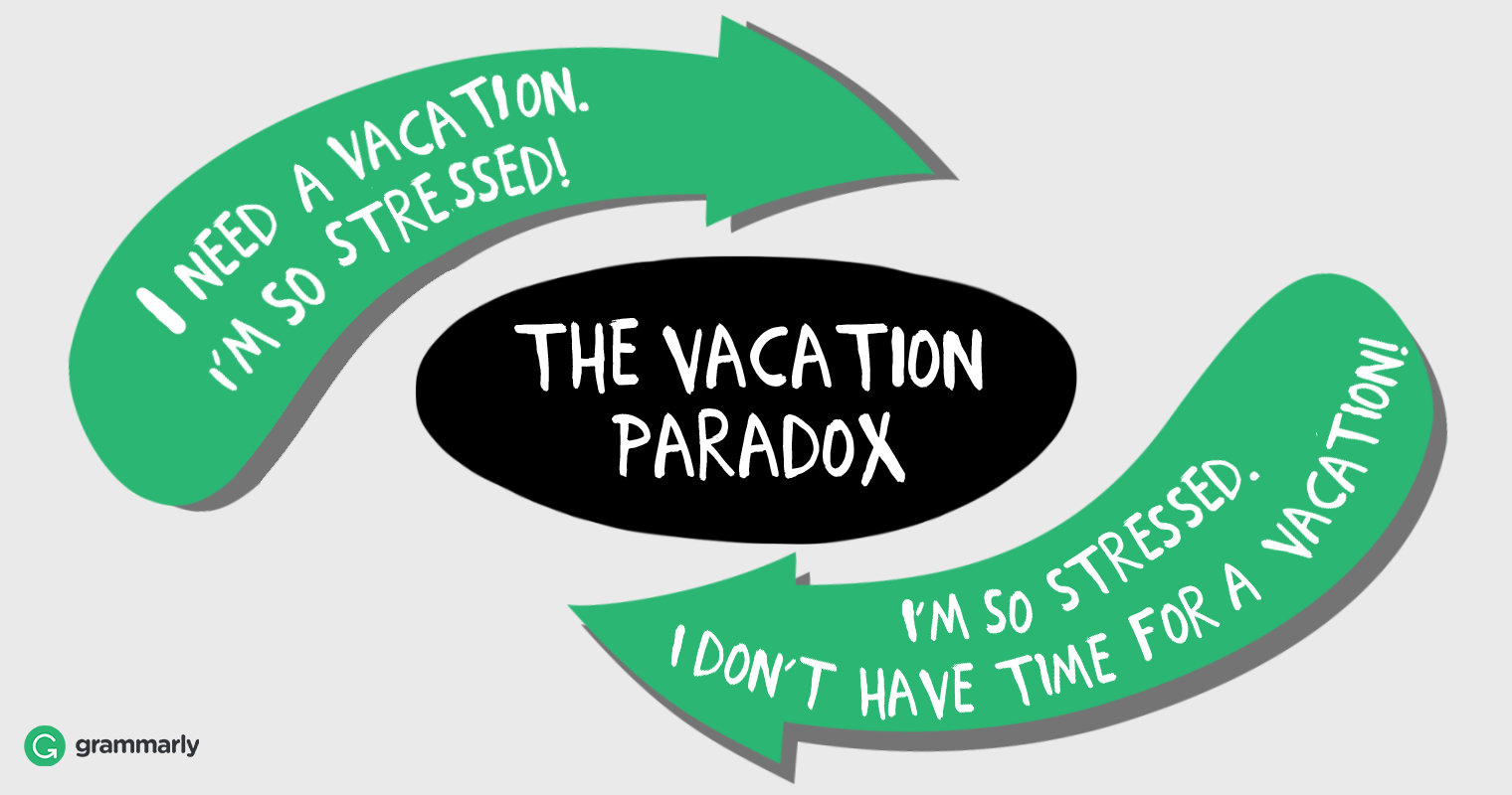 Why You Need a Vacation  Grammarly