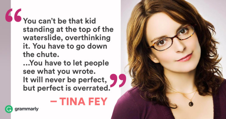 How Tina Fey Gets Things Done