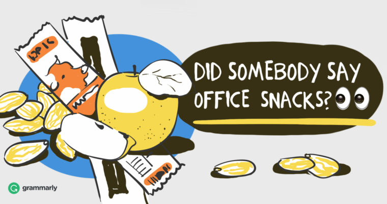 Office Snacks that Will Lead to Better Writing
