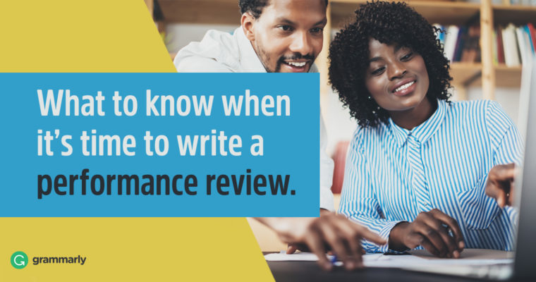 3 Performance Review Examples You Need to See