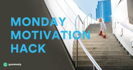 Monday Motivation Hack: Keep Moving Forward