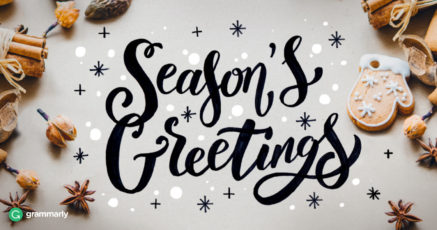 Season's Greetings or Seasons Greetings and 3 More Confusing Holiday Terms