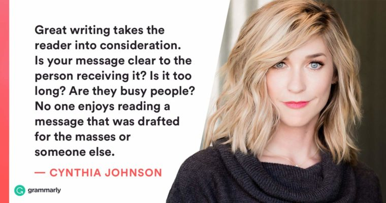 How Marketing Influencer Cynthia Johnson Communicates with Confidence