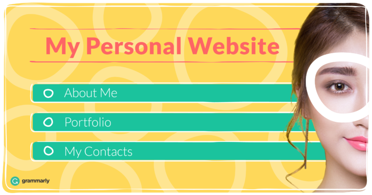 Now's the Time to Create Your Personal Website — Here's How
