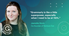 Grammarly IRL: How Jeanette Stock Empowers the LGBTQ Tech Community