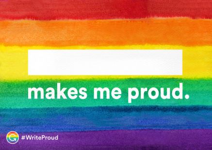 #WriteProud Poster