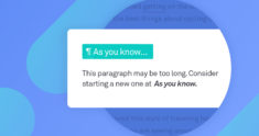 Splitting Paragraphs for Easier Reading | Grammarly Spotlight
