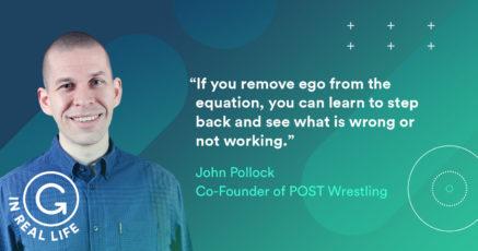 Grammarly IRL: How John Pollock Talks Straight About Professional Wrestling