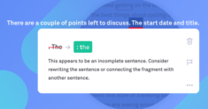When (And How) To Fix Sentence Fragments | Grammarly Spotlight