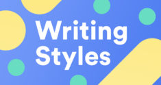 4 Essential Types of Writing Styles
