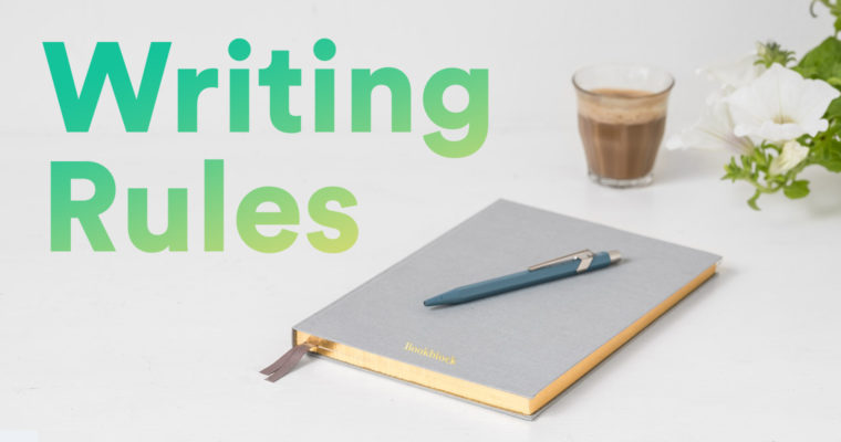 "5 Writing ""Rules"" That Are Really Guidelines"