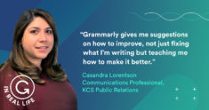 Grammarly IRL: How Casandra Lorentson Found Her Voice to Elevate Others