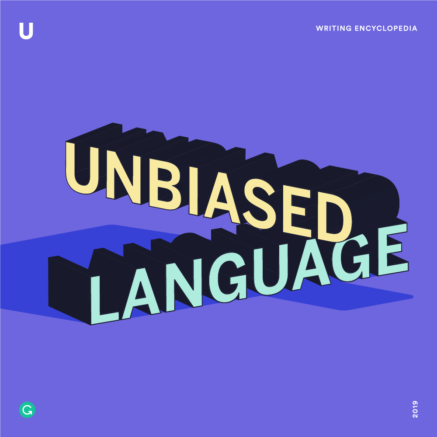 Unbiased language