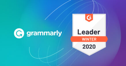 Grammarly Business Named a Leader in G2's Winter 2020 Grid® Report