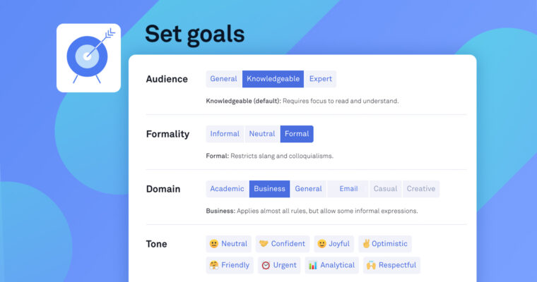 How to Set Goals in the Grammarly Editor, and Why You Should   Grammarly Spotlight