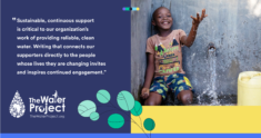 How The Water Project Delivers Impact Using Grammarly's Tailored Offer for Nonprofits and NGOs