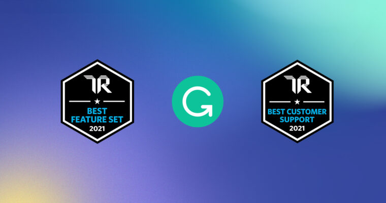 Grammarly Wins TrustRadius Awards for Best Feature Set and Best Customer Support