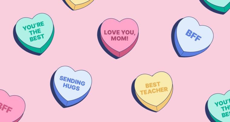 Send a Non-Romantic Love Note to Brighten Someone's Day