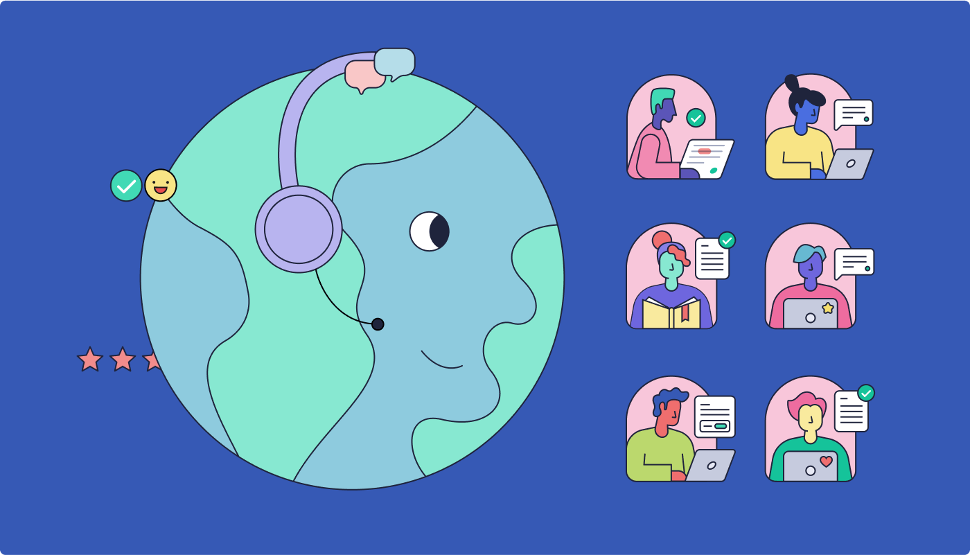 Lucid Scales Multilingual Customer Support Teams with Grammarly Business
