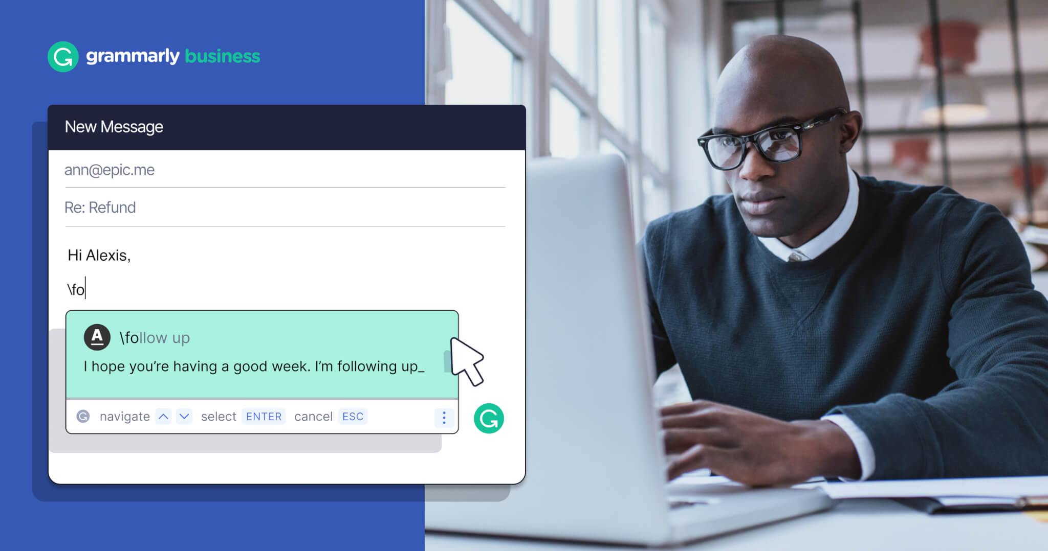 Meet the Productivity Game-Changer: Snippets from Grammarly Business