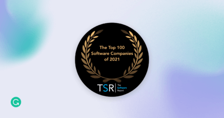 Grammarly Honored on the Top 100 Software Companies of 2021 List by The Software Report