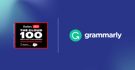 Grammarly Among Industry Leaders On 2021 Forbes Cloud 100 List