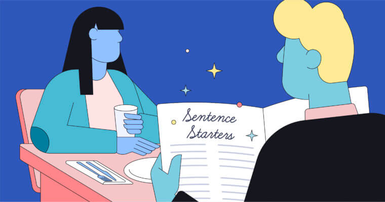 Use These Sentence Starter Tips to Strengthen Your Writing